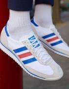 adidas Originals - SL 72 - Sneakers i vintage hvid