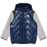 adidas Originals Navy Small Logo Padded Jacket 5-6 years (116 cm)