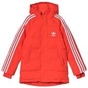 adidas Originals Red Trefoil Logo Padded Jacket 8-9 years (134 cm)