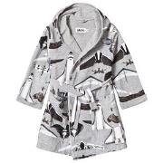 Molo Way Bathrobe Planes and Birds 86/92 cm