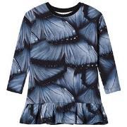 Molo Caras Dress Velvet Wings 92/98 cm
