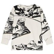 Molo Madsim Sweatshirt Snowboarders Outline 116 cm (5-6 år)