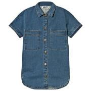 Molo Charlize Shirt Washed Denim Blue 110/116 cm
