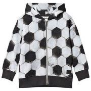 Molo Maurice Hoodie Football Structure 110 cm (4-5 år)