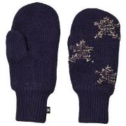 Molo Snowfall Mittens Evening Blue 1-2 år