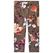 Molo Antonia Soft Pants Evergreen Flowers 98 cm (2-3 år)