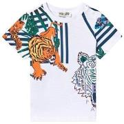 Kenzo White Icons and Tiger Tee 6 months