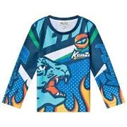 Kenzo Wind Flame Racing Long Sleeve Shirt 2 years