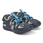 Geox Navy Vaniett Sandals 34 (UK 1.5)