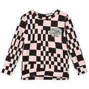 Molo Maya Sweatshirt Grid Check 104 cm (3-4 år)