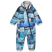 Molo Hill Soft Shell Coverall Blue Containers 68 cm (4-6 mdr)