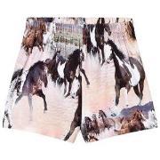 Molo Alaine Shorts print Vilde Heste 92 cm (1,5-2 år)