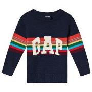 GAP Sweater Tapestry Navy 12-18 mdr