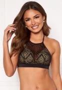 Happy Holly Emma lace bikini top Black 40/42