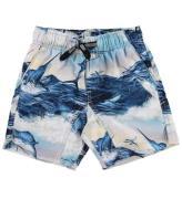 Molo Badeshorts - UV50+ - Nario - Jumping Svordfish